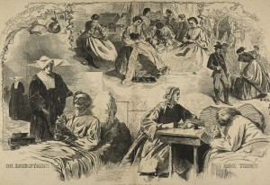 Our-Women-in-the-War-Wood-Engraving-on-Paper-by-Winslow-Homer-Harpers-Weekly-Sept-1864