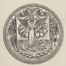 United States Sanitary Commission Seal