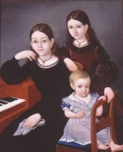Franz_Fran_ois_Fleischbein_German_born_American_pairnter_1801_1868_Children_of_Comte_Amedee_de_Barjac_1839