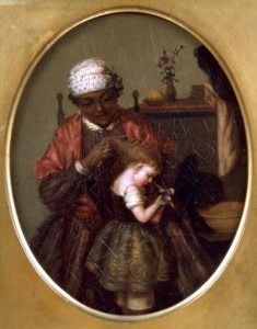 Figure 4. George Fuller, Negro Nurse with a Child, 1861.