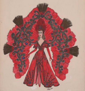 Anthony Colombo, Zulu Queen Costume Design. 1997.
