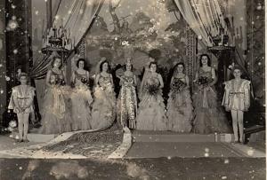 John Teunission, Hermes Mardi Gras Court, c. 1901-1920