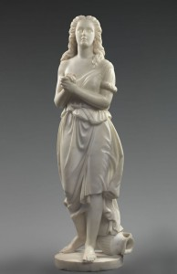 (fig.5) Edmonia Lewis (1834/35-after 1911), Hagar, 1868 or 1875, marble, 52 5/8 x 15 ¼ x 17 in., Smithsonian American Art Museum.