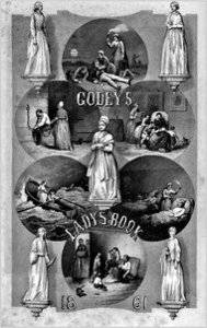Godey's Lady's Book, Cover, 1861